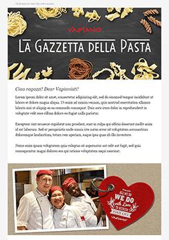 restaurant newsletter template example