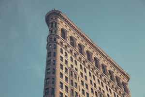 new york's flat iron building