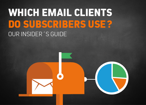 Which email clients do subscribers use?