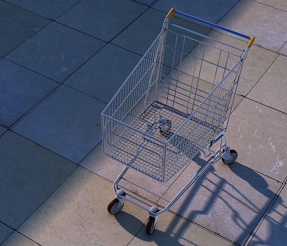 abadoned cart