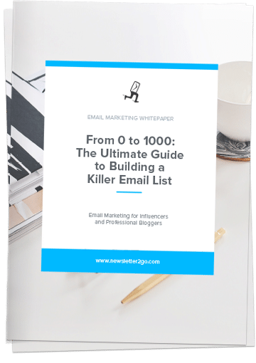 how to build a killer email list