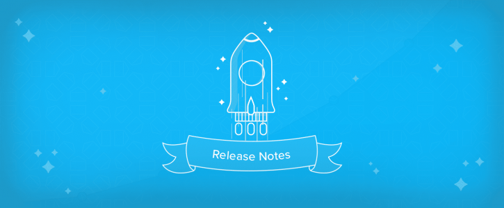 Release notes October