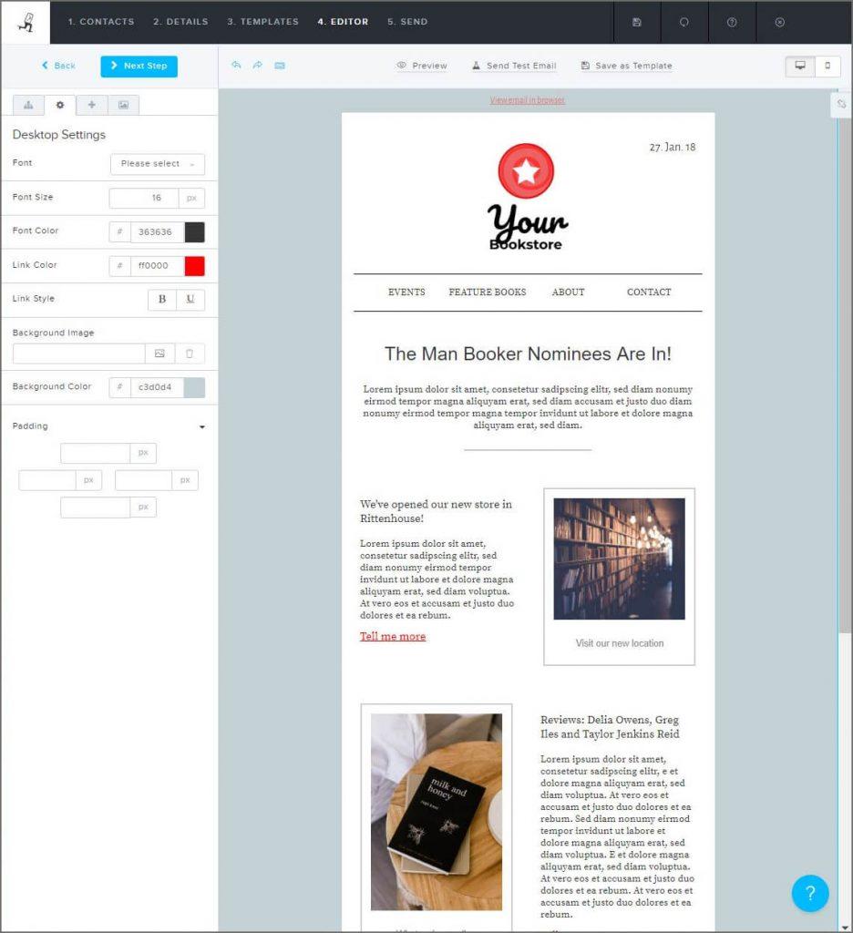 create-newsletter-retail