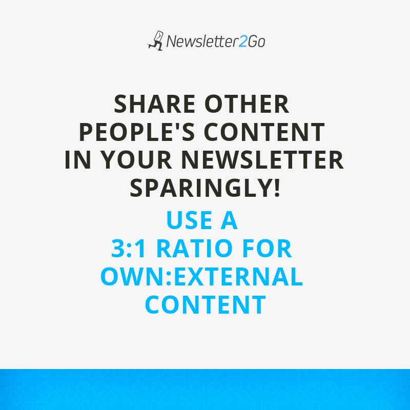 newsletters-own-content